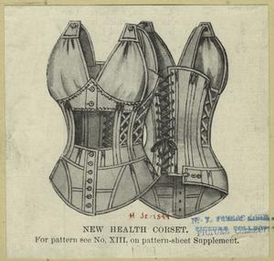 New health corset.