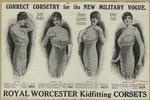 Correct Corsetry For The New Military Vogue.