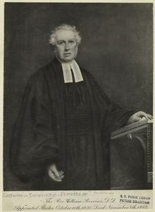 The Rev. William Berrian, D. D. appointed rector October 11th, 1830, died November 7th, 1862.