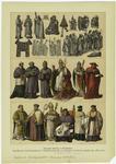 Trajes De Funcionarios Y Dignidades De La Iglesia Católica Hasta El Año 1600.