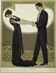 Man In Tuxedo And Woman In Evening Gown.