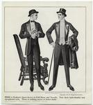 Here Is Fashion'S Latest Decree In Full Dress And Tuxedo.