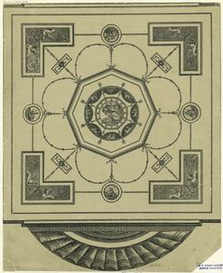 [Architectural ornament, 18th century.]