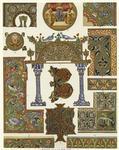 Byzantine Manuscript Illumination, 800s-1200s, Detail.