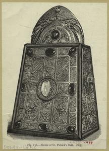 Shrine of St. Patrick's bell.