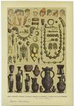 Edad Antigua -- Tocado, Calzado, Objetos De Adorno Y Vasijas De Los Etruscos.