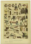 Edad Antigua -- Utensilios De Los Egipcios.