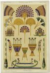 [Egyptian lotus motifs, f