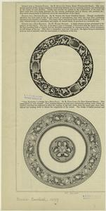 [Designs for a dinner plates, England, 19th century.]