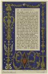 Marginal Decoration In A Ms.
