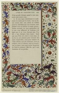 [Decorations from a French manuscript.]