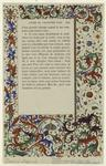 Decorations From A French Manuscript.