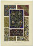 French Manuscript Designs, 15th Century.