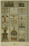 Design With Angels, Men And Women, And Floral Designs, France, 17th Century.