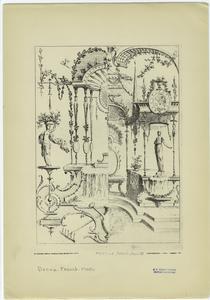 [French design, Louis XV period.]