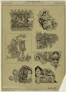 Renaissance, Louis XIV and Louis XV.