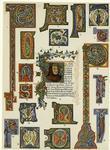 Examples Of Italian Illumination, 13th Century And 15th Century ; Portrait Of Petrarch, 14th Century.
