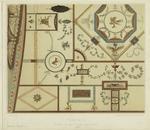Pompeji Decke In Der Casa Del Gallo.