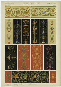 [Pompeian design.]