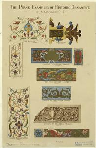 The Prang examples of historic ornament, Renaissance II.