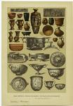 Edad Antigua -- Vasijas De Barro Y De Plata De Los Romanos.