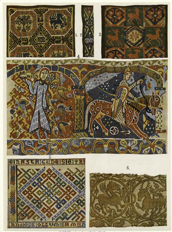 Medieval Scandinavian tapestries from New York Public Library collection
