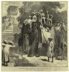 The Prince of Wales at Parbutty hill, Poonah: his first elephant ride