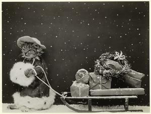 A Xmas shopper. Digital ID: 822811. New York Public Library