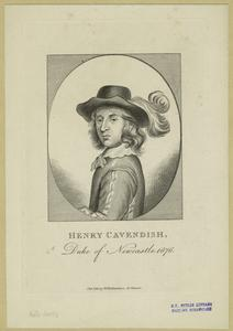 Henri Cavendish, Duke of Newcastle, 1676.