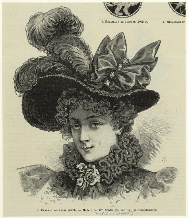 Chapeau duchesse.