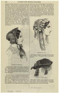 Bonnet ; Cap ; Boy's hat.