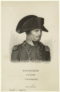 Bonaparte à la Bataille d'Austerlitz.
