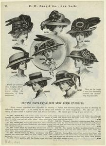 Outing hats from our New York exhibits.