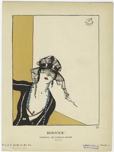 Bonjour!  Chapeau, de Camille Roger.