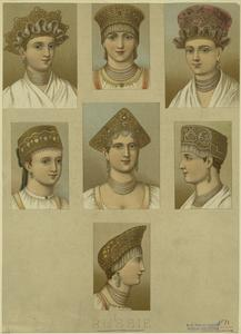 [Russian women with headdresses.]