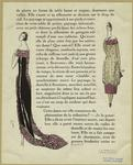[Evening gowns, France, 1