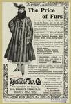 Charming coat (as sketch), very latest shape, in fine dark natural musquash