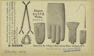 Niagara glove works.