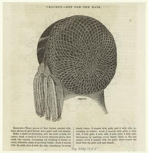 Crochet -- net for the hair.