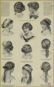 [Hairstyles for teenage girls,... Digital ID: 825172. New York Public Library