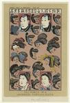Fac-simile of a Japanese fashion plate
