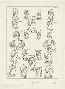 [Ancient hairstyles, Rome.]