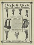 Peck & Peck New Fall Hosiery Creations.
