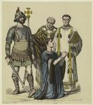 [Soldiers and clergy with