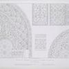 Détails de l'intérieur de la salle du tombeau de Qalaoun