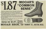"Mooar's ""common sens"