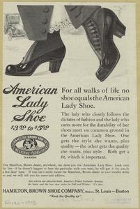 American lady shoe.