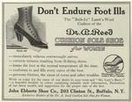 Dr. A. Reed cushion sole