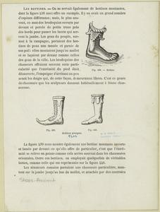 Bottine ; Bottines grecques.