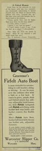 Grosvenor's firfelt auto boot.